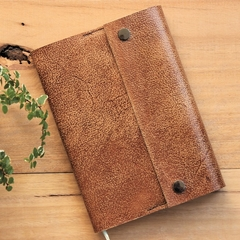 Recycled Leather notebook cover