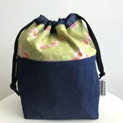 Olive Vintage Rose Bag
