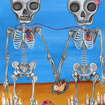 """""""The Two Skeletons"""" Art Print"""