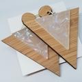 SHAYNE Acrylic & Bamboo Earrings/Dangles