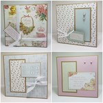 Baby Cards - 2x Baby Girl & 2x Baby Boy