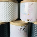 Ceramic Scented Soy Candle (Choose your scent)