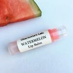 Watermelon Natural Lip Balm  - Handmade natural lip balm for dry lips