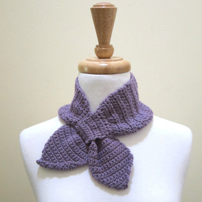 1950s Vintage Style Ascot Scarf In Pure Australian Wool Pick Your