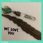 WE LOVE YOU - bookmark
