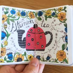 Tea illustrations - Zine