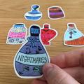 Potion bottle Stickers