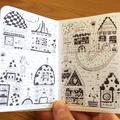 Sketching & inking - Zine
