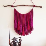 Wine & Plum Wall Hanging