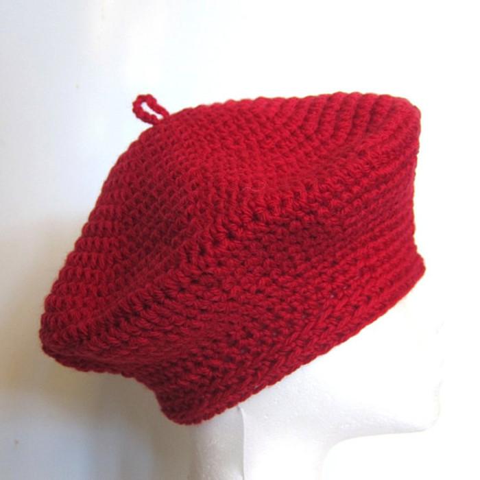 bce0b64f0c27a 1930s vintage style classic beret - pure Australian wool - pick a colour