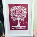 "*Made To Order*. Custom ""Wedding"" - PaperCut Art"