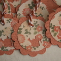 12 Watering Can Tags ~ Tags for the Gardener ~ Flower Lovers ~ Bridal Shower Tag