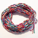 Chunky Knit Triple Wrap kids Infinity Scarf