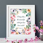 Perhaps Bible Quote Printable