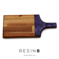 Purple Resin Acacia  Teak Board