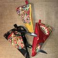Scissor Cozy - Kimono Fan Black - Large/Small