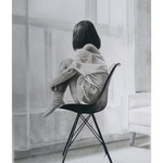 """Stay Home Today"" Original Graphite & Charcoal Artwork 29cm (W) x 42cm (H) A3"