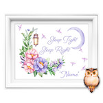 Sleep Tight Sleep Right Personalised Printable