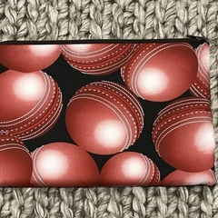 Cricket balls pencil case