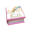 Unicorn Rainbow Keepsake Trinket Treasure Jewellery Memory Wooden Box