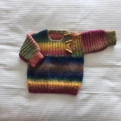 Baby Stripy Jumper 6mths Plus