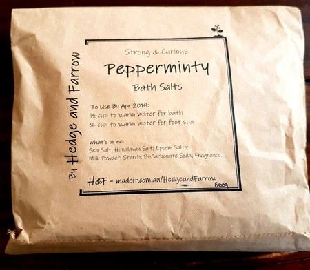 Bath Salts - 500g Bag - Pepperminty