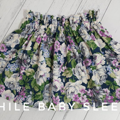 Paperbag Waist Skirt Floral - Available Sizes 2, 3, 4