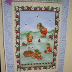 Strawberry Bear Quilt