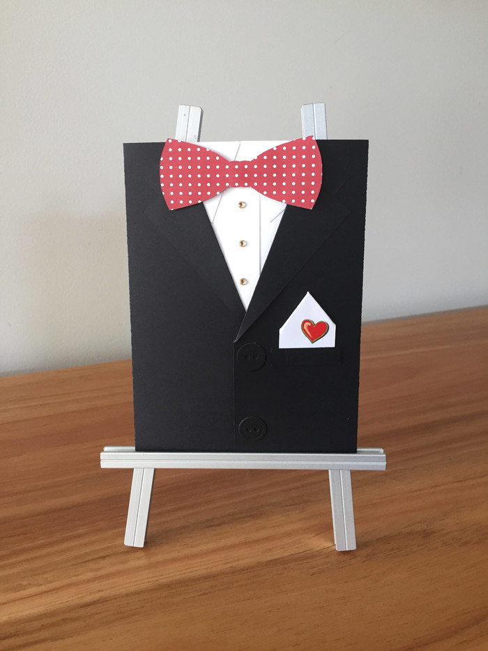 Tuxedo Card Suit Birthday For Him Groomsman Invite Will You Be My