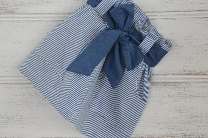 f090cda0e1 girls cotton skirt, paper bag skirt, sash skirt   Shopatots   madeit.com.au