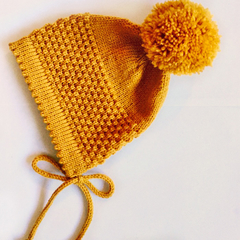 Baby Bonnet Knit