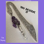 YOU DESERVE IT - bookmark