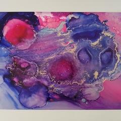 Into the Nebula - Original Artwork