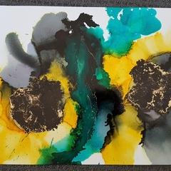 Wattle & Smoke - Original Painting