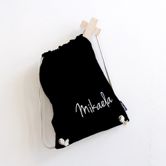 Name Bag Black