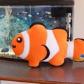 Clown Fish Whale Shark Pillow Plush Nemo Fish Softie Soft Toy Nursery Home Decor