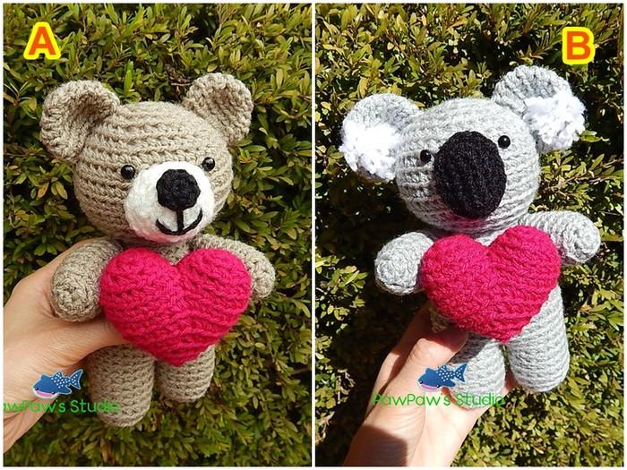Plush bear free amigurumi pattern   Amiguroom Toys   525x700