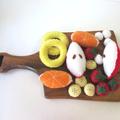 Fruit Felt Food, Fruit Salad Pretend Food