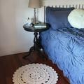 Small Crochet Floor Rug