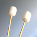 Marshmallows on Sticks For Campfire, Felt Food Marshmallows, Toasted Marshmallow