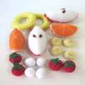Fruit Felt Food, Fruit Salad Pretend Food