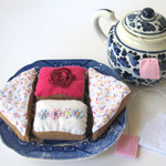 Felt Food,  Pretend Play Tea Party Set