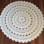 Large Crochet Floor Rug