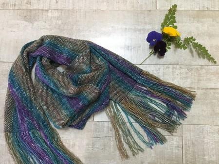 Hand woven shawl/scarf.