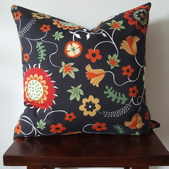 Invisible zipper cushion covers