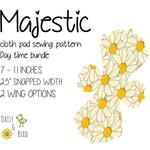 Majestic | Reusable Cloth Menstrual Pads | PDF Sewing Pattern | Daytime Bundle