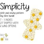 Simplicity | Reusable Cloth Menstrual Pad | PDF Sewing Pattern | Daytime Bundle
