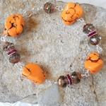 Tangerine Turquoise Bracelet