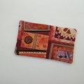 Travel Tissue Pouch - Geometric Abstract - Purse Accessory - Practical Gift