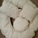 Newborn Posing Cushions, Set of Four, Photography Accessories, Baby Photography